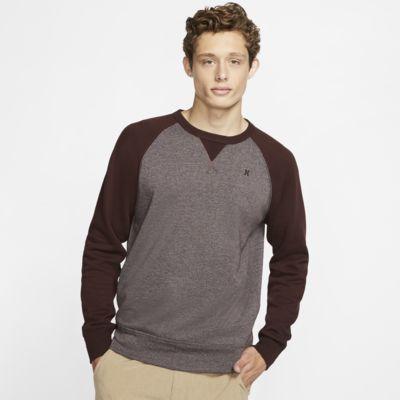 Hurley Crone Textured Fleece-Rundhalsshirt für Herren