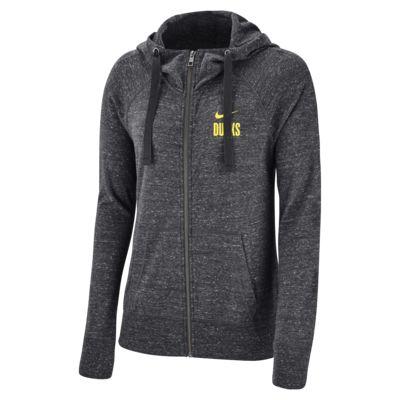 Nike College Gym Vintage (Oregon) Women's Full-Zip Hoodie