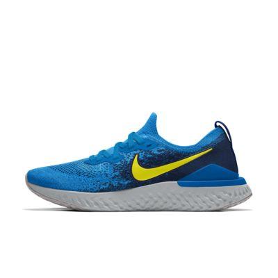 Nike Epic React Flyknit 2 By You Custom Men's Running Shoe