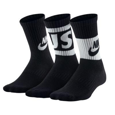 Nike Dri-FIT Younger Kids' JDI Crew Socks (3 Pairs)