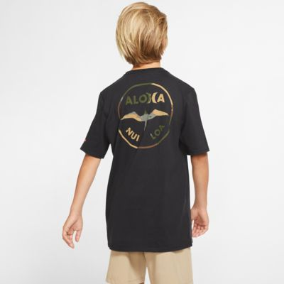 Playera de ajuste premium para niño Hurley Premium JJF Aloha