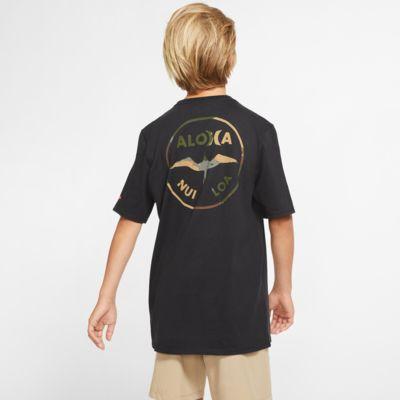 T-shirt com ajuste premium Hurley Premium JJF Aloha para rapaz