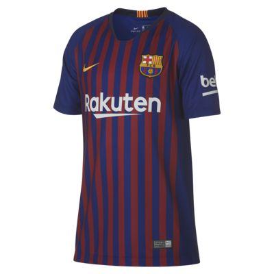 Camiseta de fútbol para niños talla grande 2018/19 FC Barcelona Stadium Home