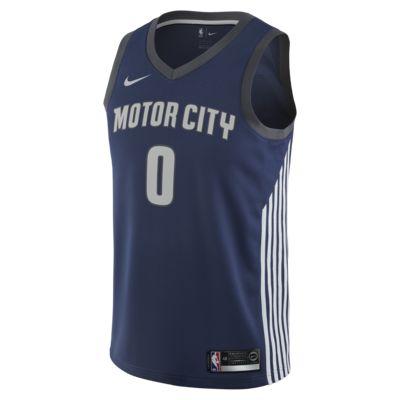 Купить Мужское джерси Nike НБА Andre Drummond City Edition Swingman Jersey (Detroit Pistons)