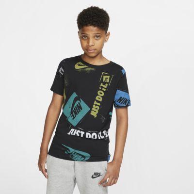 Nike Sportswear大童(男孩)印花T恤
