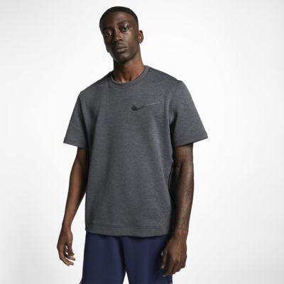 Baskettröja med rund hals Nike Therma Flex för män