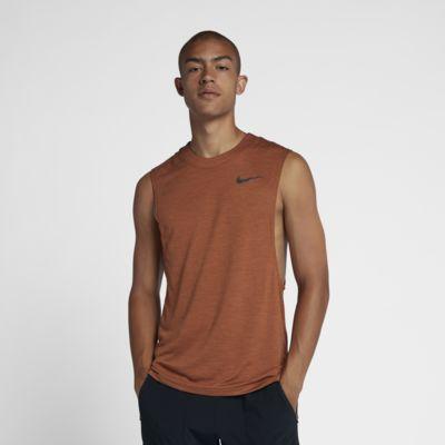 Męska koszulka bez rękawów do biegania Nike Medalist Run Division