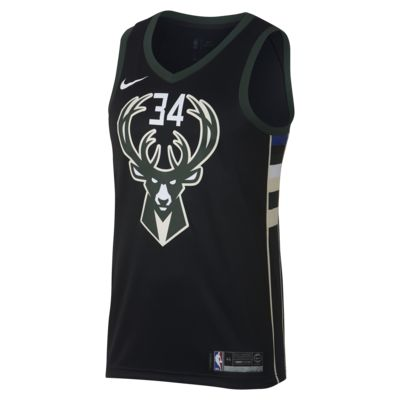 Pánský dres Nike NBA Connected Giannis Antetokounmpo Statement Edition Swingman (Milwaukee Bucks)