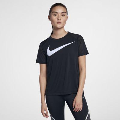 Nike Miler Damen-Kurzarm-Laufoberteil