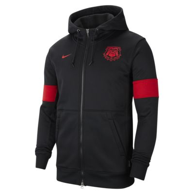 Nike College Therma (Georgia) Men's Full-Zip Hoodie