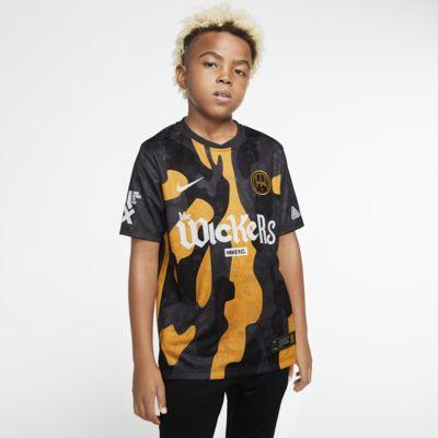 Hackney Wick FC hjemmebane-fodboldtrøje til store børn