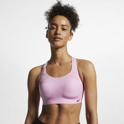 Спортивное бра с высокой поддержкой Nike Alpha