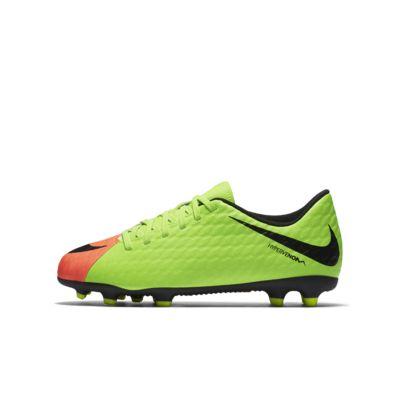 Chaussure de football à crampons pour terrain sec Nike Jr. Hypervenom Phade 3 pour Jeune enfantEnfant plus âgé