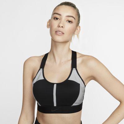 Sujetador deportivo de sujeción media para mujer Nike Swoosh City Ready