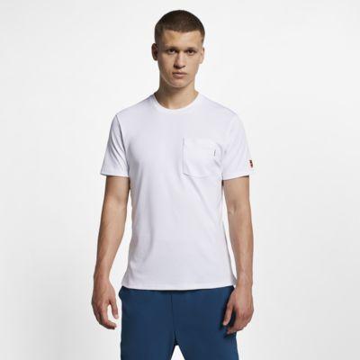 Haut de tennis à manches courtes NikeCourt pour Homme