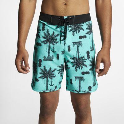Shorts de playa de 46 cm para hombre Hurley Phantom Asylum