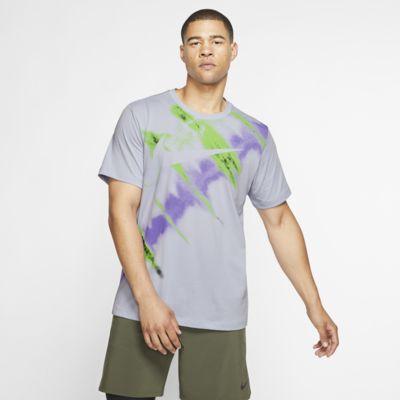 Męski T-shirt treningowy z krótkim rękawem Nike Dri-FIT