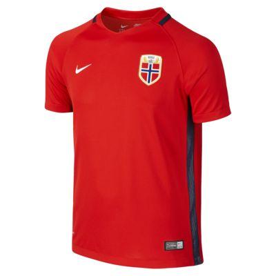 Camiseta de fútbol para niños talla grande Norway de local para aficionados, temporada 2016 (XS-XL)