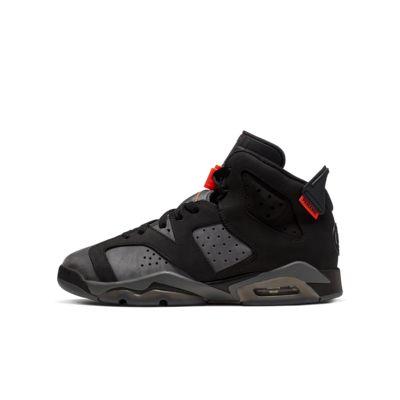 innovative design ce4f1 46261 Air Jordan 6 Retro Paris Saint-Germain Big Kids' Shoe