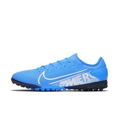 Купить Футбольные бутсы для игры на синтетическом покрытии Nike Mercurial Vapor 13 Pro TF, Легендарный синий/Обсидиан/Белый, 23225268, 12630519