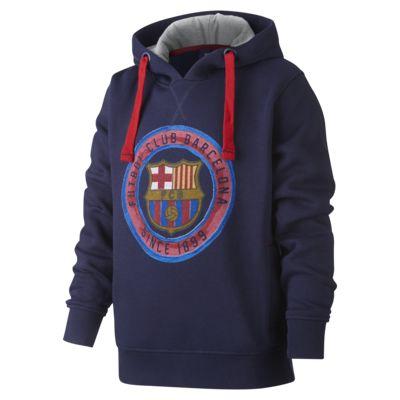 Bluza z kapturem dla dużych dzieci FC Barcelona