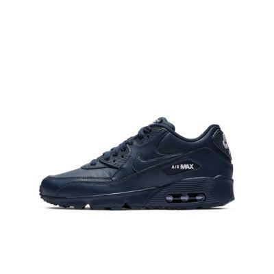 Кроссовки для школьников Nike Air Max 90 Leather