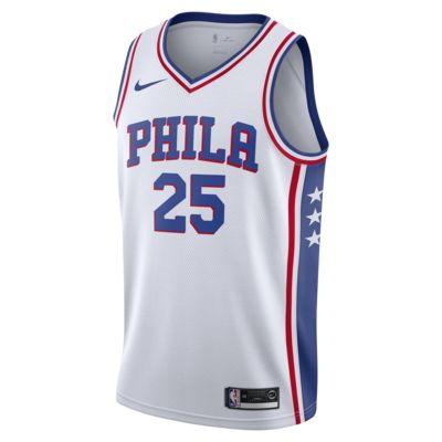 Camiseta Nike NBA Swingman Ben Simmons 76ers Association Edition