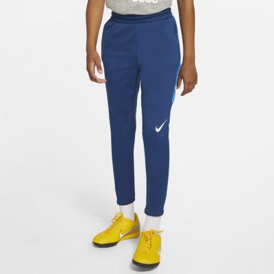 Fotbalové kalhoty Nike Dri-FIT Strike pro větší děti (chlapce)