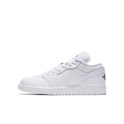 Air Jordan 1 Low sko til store barn