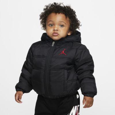 Péřová bunda Jordan Jumpman pro kojence (12-24 měsíců) se zipem po celé délce