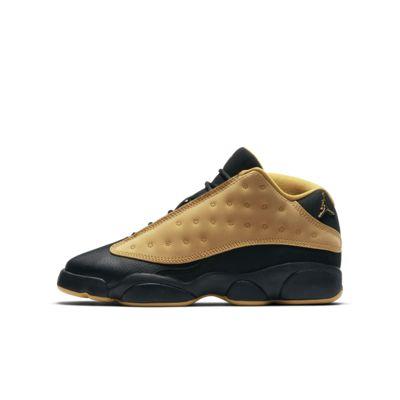 Air Jordan 13 Retro Low - sko til store børn