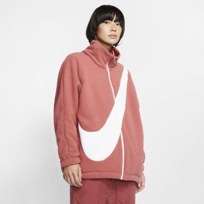 Nike Sportswear Swoosh wendbare Sherpa-Damenjacke