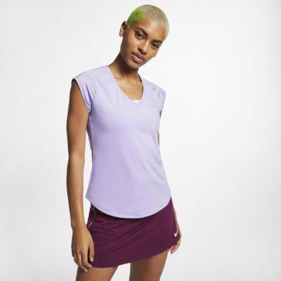 NikeCourt Pure Damen-Tennisoberteil