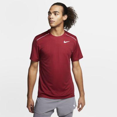 Nike Miler Kurzarm-Laufoberteil für Herren
