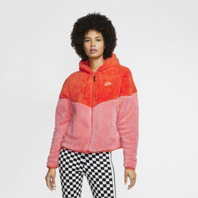 Nike Sportswear Windrunner-sherpajakke til kvinder