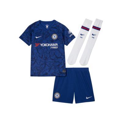 Chelsea FC 2019/20 Stadium Home Little Kids' Soccer Kit