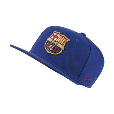Gorra ajustable para niños talla grande Nike Pro FC Barcelona