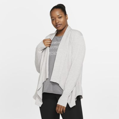 Nike Yoga Women's Long-Sleeve Top (Plus Size)