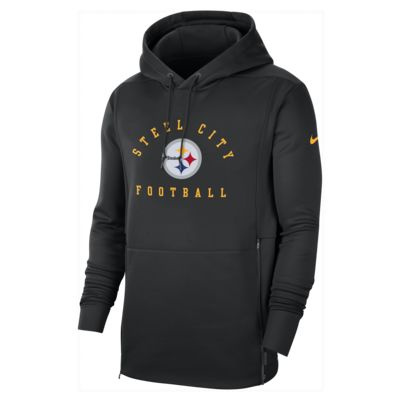 Nike Therma Local (NFL Steelers) Men's Hoodie