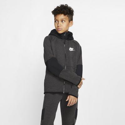 Nike Sportswear Tech Fleece Older Kids' Full-Zip Hoodie