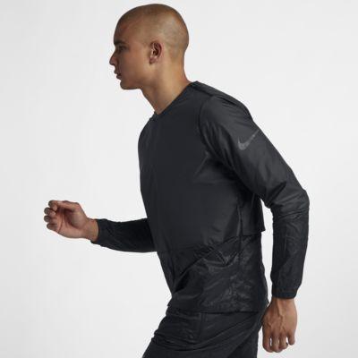 Nike Men's Crew Running Jacket | Tuggl