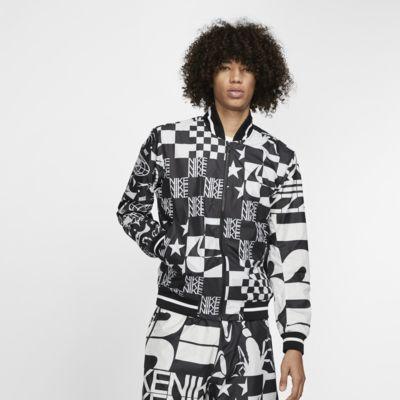 Nike Sportswear Baskılı Ceket