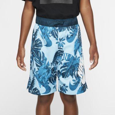 Spodenki z tkaniny z nadrukiem dla dużych dzieci (chłopców) Nike Sportswear
