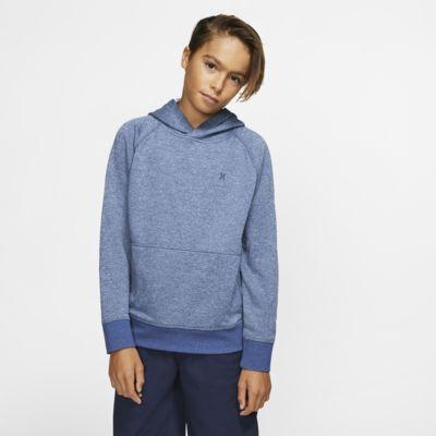Sudadera con capucha de tejido Fleece sin cierre para niño Hurley Dri-FIT Disperse