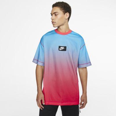 Kortärmad tröja i mesh Nike Sportswear för män