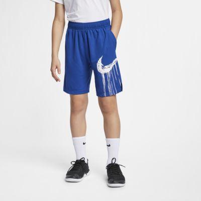 Nike Dri-FIT Trainingsshorts mit Grafik für ältere Kinder (Jungen)
