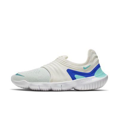 Купить Женские беговые кроссовки Nike Free RN Flyknit 3.0, Парус/Синий/Aurora, 23181082, 12624728