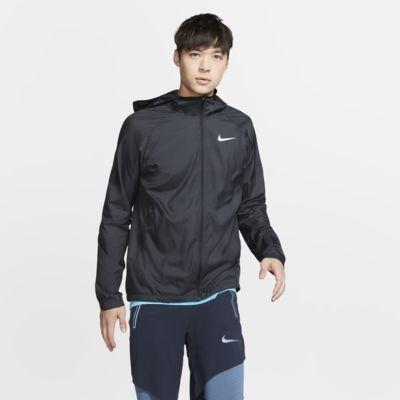 Pánská běžecká bunda Nike Essential s kapucí
