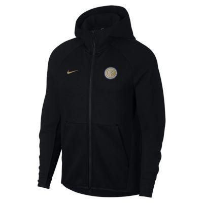 Inter Milan Tech Fleece Men's Full-Zip Hoodie