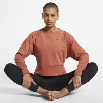 Γυναικεία μακρυμάνικη μπλούζα προπόνησης γιόγκα Nike Dri-FIT